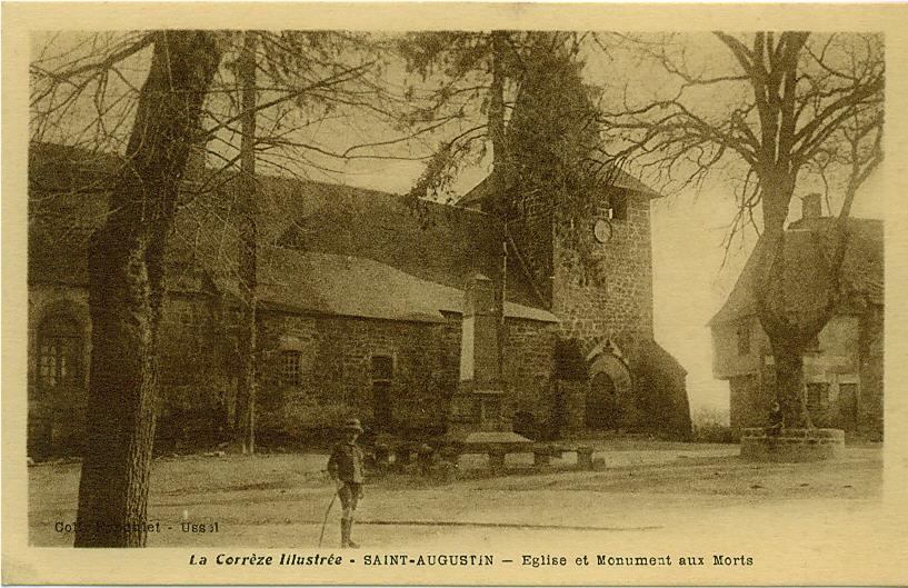 La Corrèze illustrée, carte postale