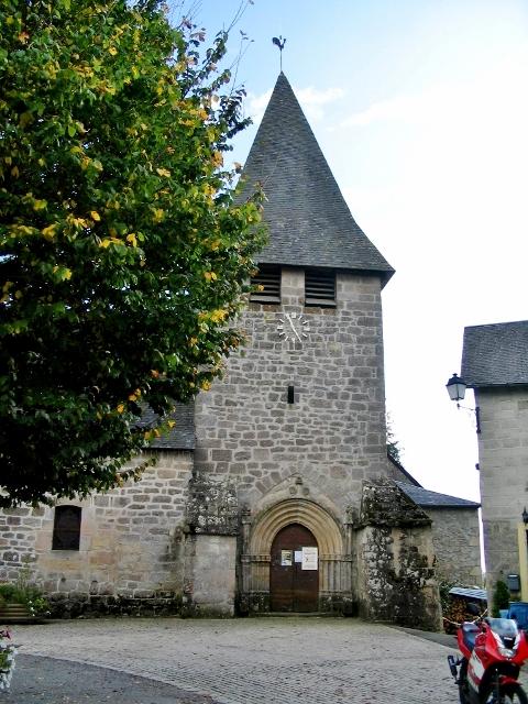 clocher église de Saint-Augustin