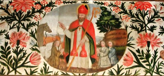 peinture à l'huile de Saint-Augustin