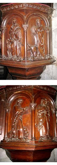 2 chaire église Corrèze